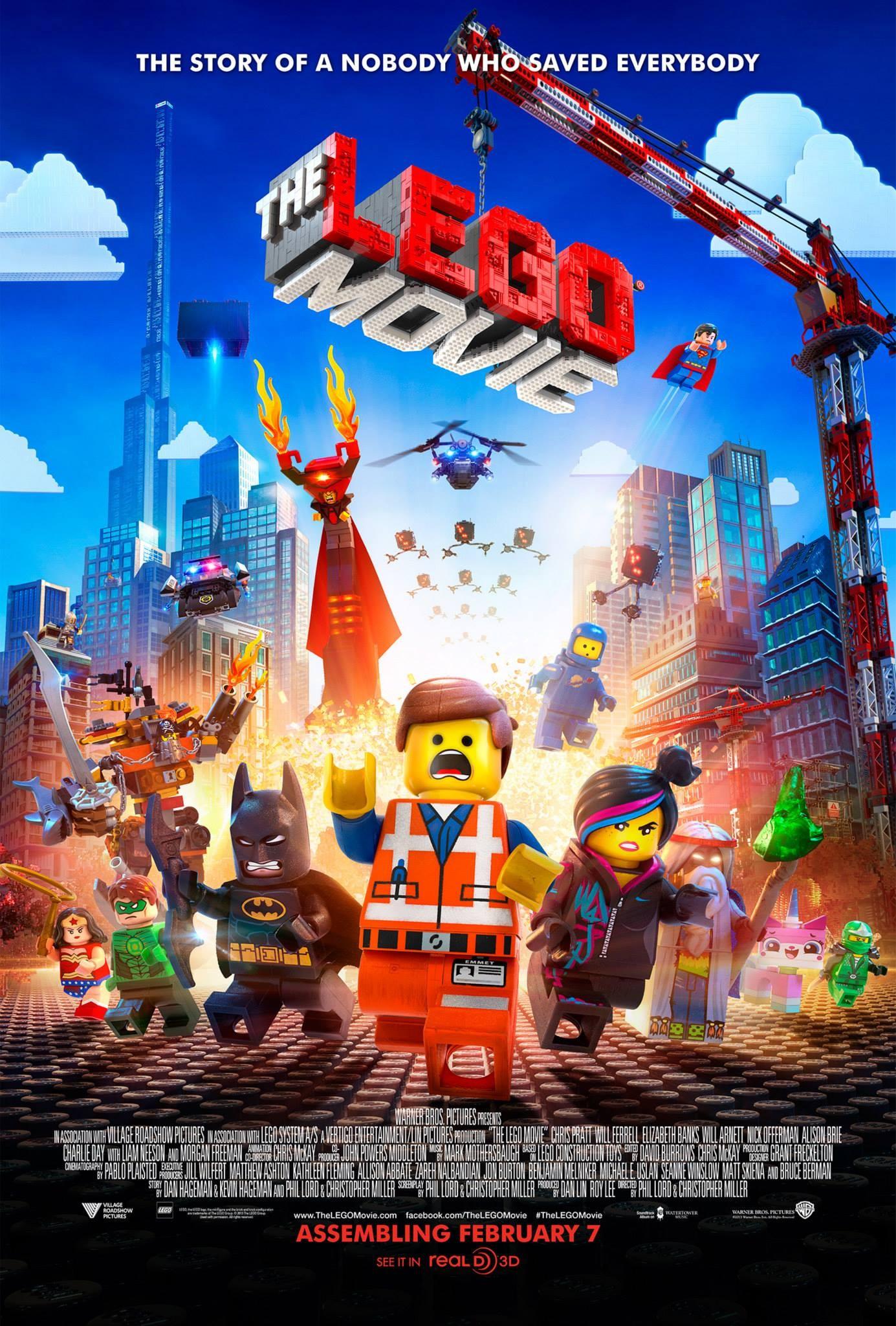 Affiche film Lego