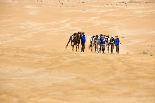 Randonnée à cheval dans la région de Ash Sharqiyyah