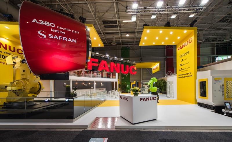 Salon du Bourget - FANUC with SAFRAN technology